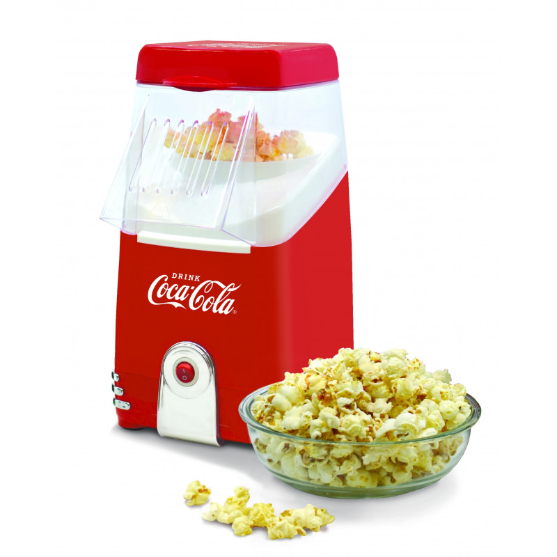 COCA COLA ® Hot Air Popcornmaschine SNP-10CC