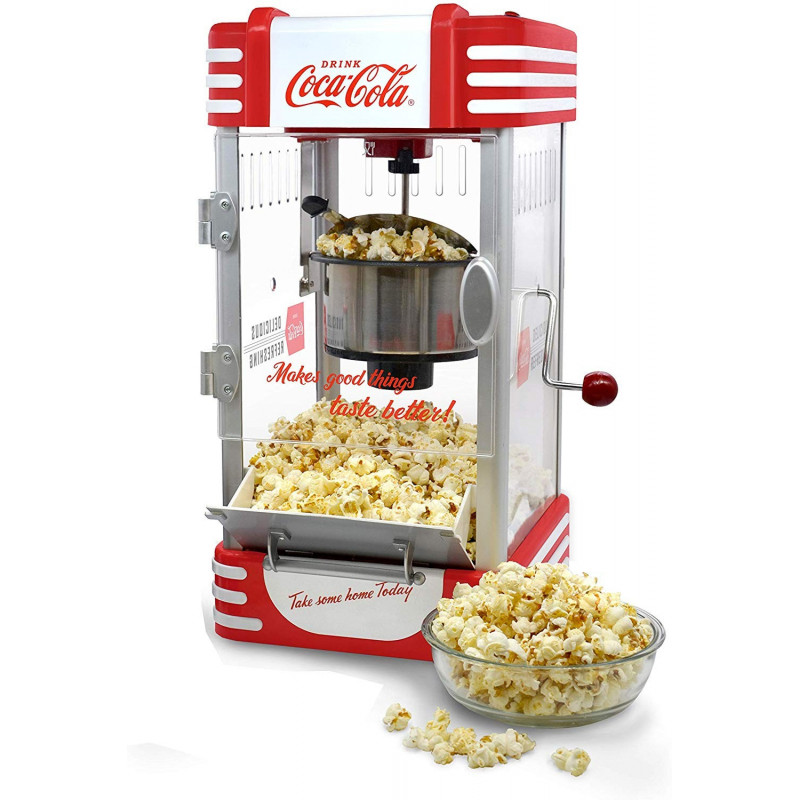 COCA COLA ® Hot Air Popcornmaschine SNP-10CC