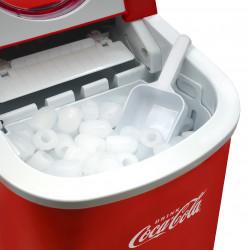 Salco Coca Cola Eiswürfelmaschine SEB-14CC, rot